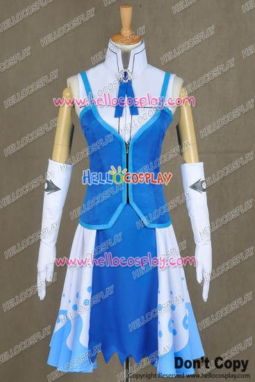 Fairy Tail Cosplay Juvia Lockser Costume Uniform