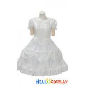 Lolita Dress Black/White