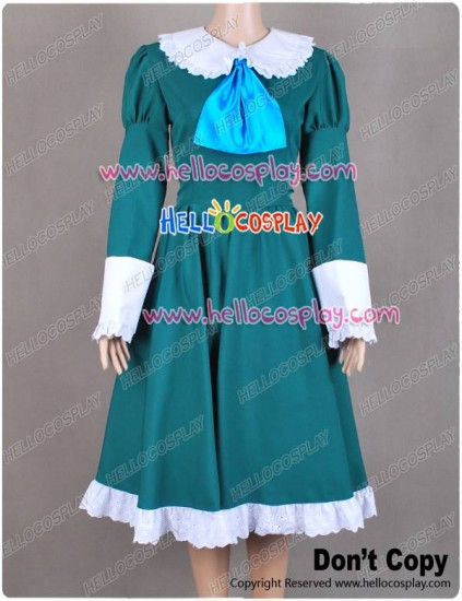 IB Mary and Garry Game Mary Cosplay Costume Green Dress