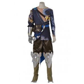 Overwatch Hanzo Shimada Cosplay Costume Uniform