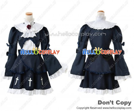 Oreimo My Little Sister Can't Be This Cute Cosplay Ruri Gokō Kuroneko Black Cat Costume