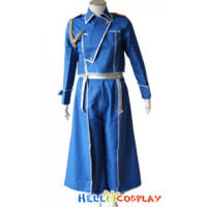 FullMetal Alchemist Roy Cosplay Costume Uniform