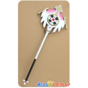 Elsword Cosplay Aisha Angel Magic Wand Hand Staff Stick Weapon