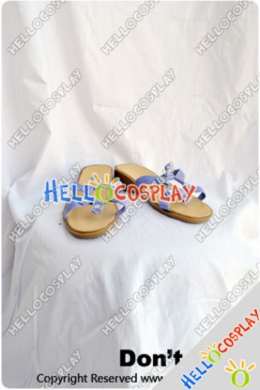 Touhou Project Cosplay Cirno Shoes