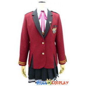 Fortune Arterial Cosplay School Girl Uniform