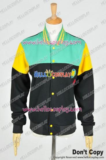 Free! - Iwatobi Swim Club Cosplay Ending Theme ED Version Makoto Tachibana Costume Baseball Jacket