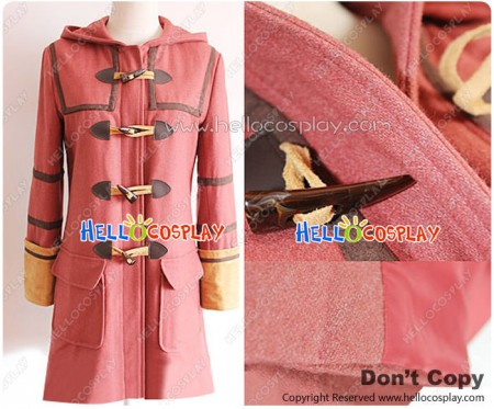 Future City Cosplay Shion Costume Coat