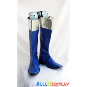 Tokusou Sentai Dekaranger Cosplay Blue Boots