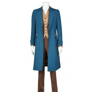 Fantastic Beasts and Where to Find Them Newt Scamander Cosplay Costume Outfits