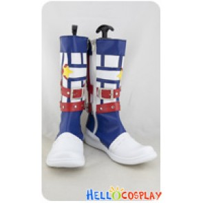 Vocaloid Cosplay Kagemine Len Navy Style Boots