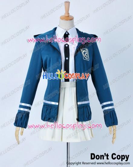 Super Danganronpa 2 Dangan Ronpa Cosplay Chiaki Nanami Costume Uniform