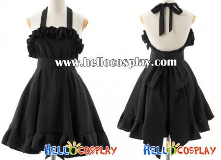 K-On Cosplay Mio Akiyama Black Dress