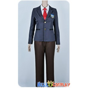 Free Iwatobi Swim Club Cosplay Nagisa Hazuki Rei Ryūgazaki Uniform Costume Red Tie