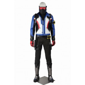 Overwatch Soldier 76 Cosplay Costume Uniform