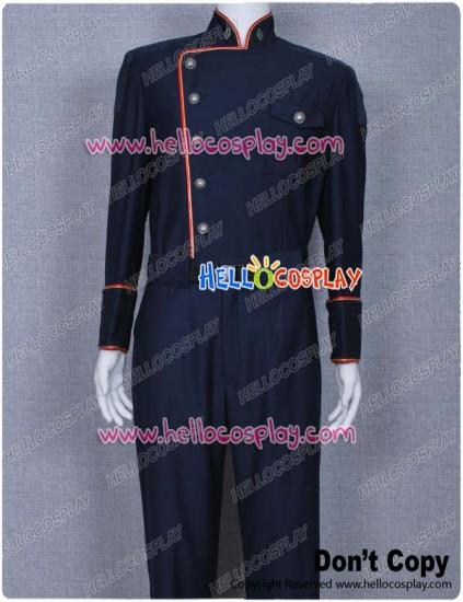 Battlestar Galactica Commander William Adama Uniform Costume