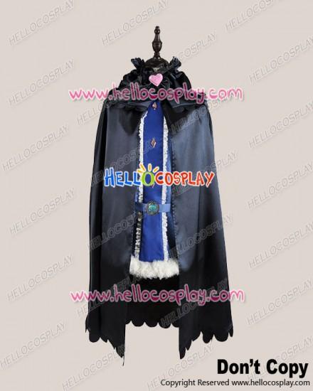 Karneval Cosplay Kiichi Black Blue Dress Costume