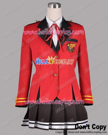 Fortune Arterial Cosplay Shuchikan Academy School Girl Uniform Costume