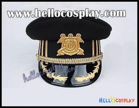 07 Ghost Cosplay Empire's Military Hat