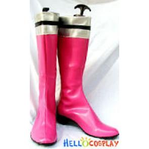 Tokusou Sentai Dekaranger Cosplay Pink Boots