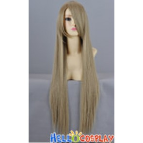 Cool Ash Blonde Flaxen Long Cosplay Wig