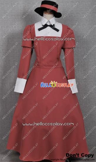 Black Butler Kuroshitsuji Cosplay Mey-Rin Daytime Dress
