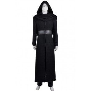 Star Wars The Force Awakens Kylo Ren Cosplay Costume Outfits