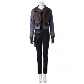 Star Wars Rogue One Jyn Erso Cosplay Costume