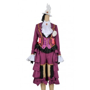 Black Butler 2 Cosplay Alois Trancy Purple Uniform Costume