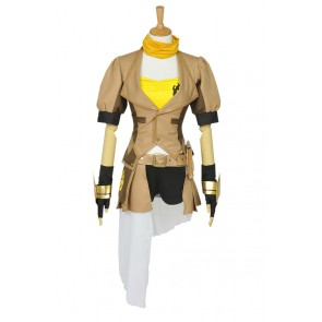 RWBY Cosplay Yellow Trailer Yang Xiao Long Uniform Costume Full Set