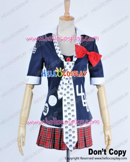 Danganronpa Dangan Ronpa Cosplay Junko Enoshima Costume School Girl Uniform