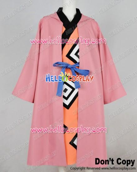 One Piece Cosplay Jimbei Jinbee Kimono Coat Costume