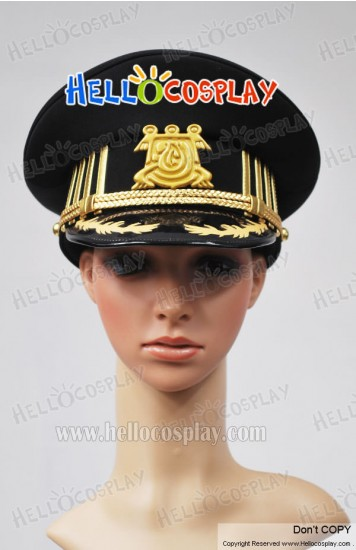 07 Ghost Cosplay Empire's Military Hat New Style