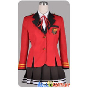 Fortune Arterial Cosplay Shuchikan Academy School Girl Uniform Costume