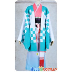 Blue Exorcist Shiemi Moriyama Cosplay Costume Kimono Dress