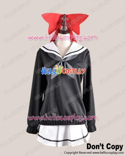 Kyousogiga Cosplay Koto Sailor Uniform Dress Costume
