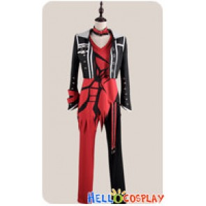 Amnesia Cosplay Shin Costume Black Red Suit