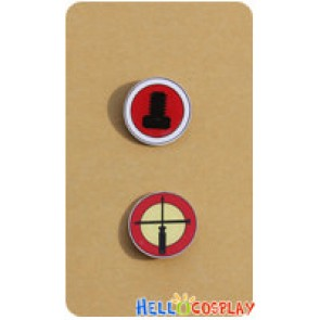 Danganronpa Dangan Ronpa Cosplay Kazuichi Soda Brooches Badges