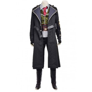 Assassins Creed Syndicate Cosplay Jacob Frye Costume Uniform