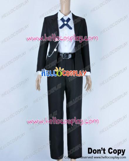 Danganronpa Dangan Ronpa Cosplay Byakuya Togami Costume Black Uniform