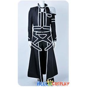 Sword Art Online Cosplay Kirito Kazuto Kirigaya Black Costume