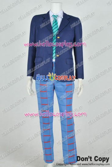 Love Live 2 Cosplay Eli Ayase Costume Male Uniform Version