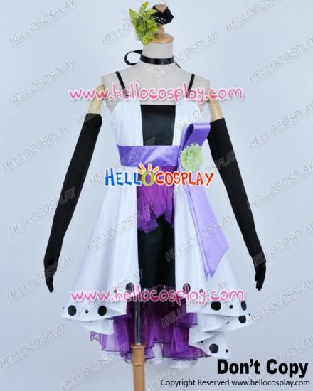 Vocaloid 2 Cosplay Camellia Haku Costume Formal Dress