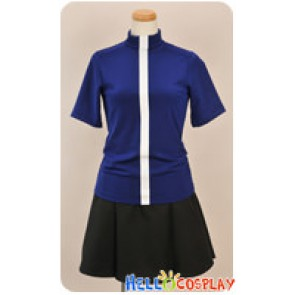 Kampfer Cosplay Natsuru Senou Blue Summer Uniform Costume