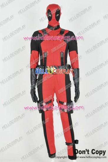 Deadpool Wade Wilson Jumpsuit Cosplay Costume Cotton
