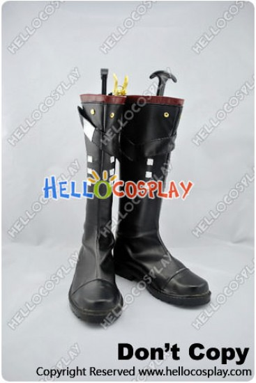Unlight Cosplay Salgado Boots