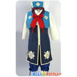 Monster Hunter 3rd Cosplay Nadesiko Uniform Costume Blue Ver