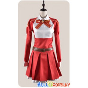 Sword Art Online Cosplay Lisbeth Rika Shinozaki Red Costume
