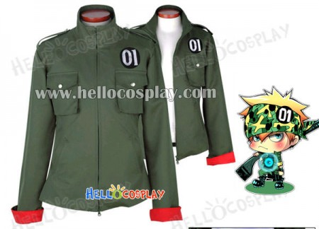 Katekyo Hitman Reborn Cosplay Colonnello Costume