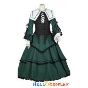 Rozen Maiden Jade Stern Cosplay Costume Lolita Dress