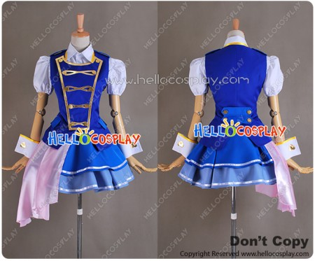 AKB0048 Season 2 Cosplay Makoto Yokomizo Costume Dress